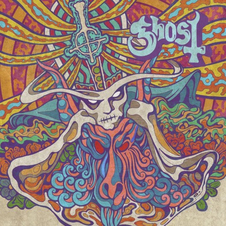 """Ghost - Kiss the Go-Goat / Mary On a Cross """"7 Single Vinilo Edición Limitada Pre Pedido"""