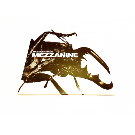 Massive Attack - Mezzanine 2 Lp Vinyl