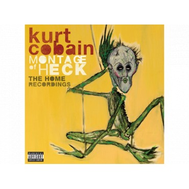 Kurt Cobain - Montage Of Heck The Home Recordings LP Gram