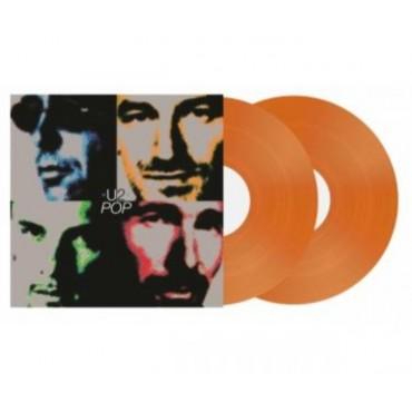 U2 - POP 2 Lp Doble Vinilo Naranja Edición Limitada