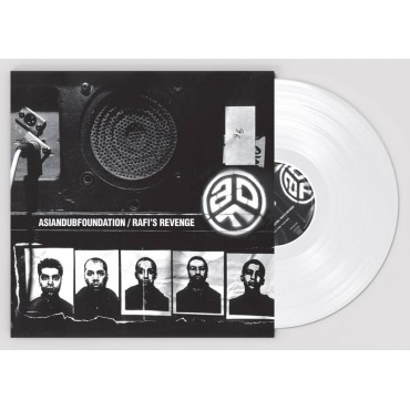 Asian Dub Foundation - Rafi's Revenge 2 Lp Doble Vinilo Blanco Edición Limitada