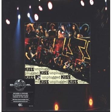 Kiss - MTV Unplugged Live 2 Lp Doble Vinilo Portada Gatefold Edición Alemana