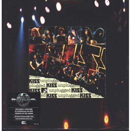 Kiss - MTV Unplugged Live 2 Lp Double Vinyl Gatefold Sleeve German Edition