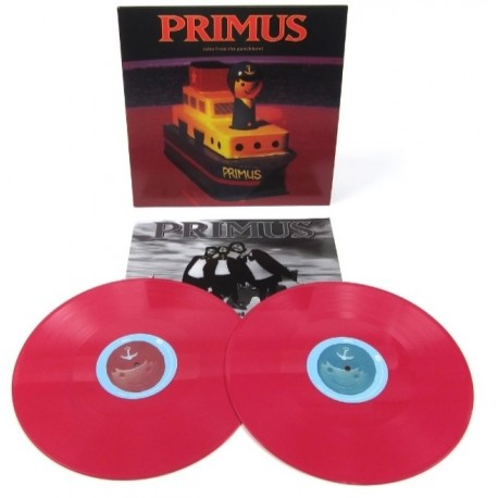 Primus - Tales From The Punchbowl 2 Lp Double Color Vinyl Limited Edition