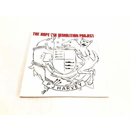 PJ Harvey - The Hope Six Demolition Project Lp Vinyl Gatefold