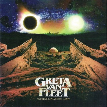 Greta Van Fleet ‎– Anthem Of The Peaceful Army Lp Vinilo OFERTA!!!