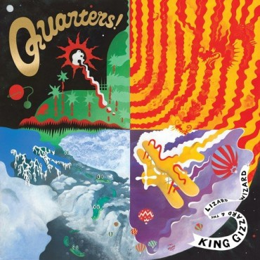 King Gizzard And The Lizard Wizard - Quarters Lp Vinilo OFERTA!!!