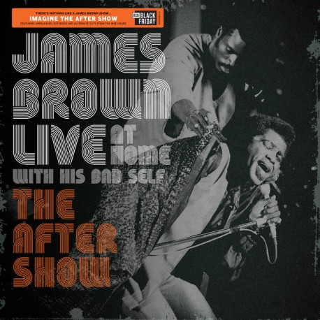 James Brown - Live at Home: The After Show Lp Vinyl RSD 2019 Limited Edition Pre Order