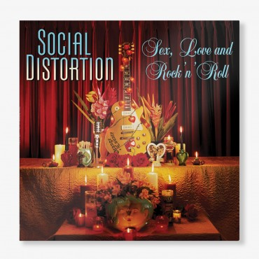 Social Distortion - Sex, Love & Rock & Roll Lp Vinilo 180 Gramos Re-Edición 2019