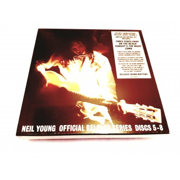 The Neil Young Official Release Series Volume Two 4 Lp Vinilo Box Set 180 Gram