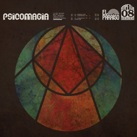 Psicomagia- Psicomagia Lp Color Vinyl Limited Edition Of 300 Copies