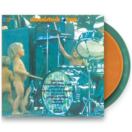 Various – Woodtock Two 2 Lp Double Color Vinyl Tri-Fold Sleeve Limited Edition