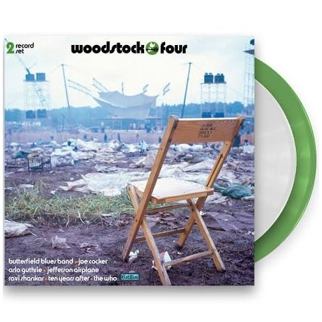 Various ‎– Woodtock Three 2 Lp Double Color Vinyl Tri-Fold Sleeve Limited Edition