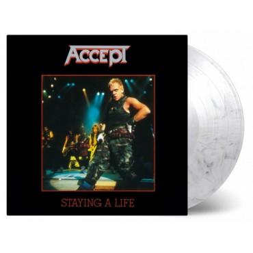 Accept - Staying Alive 2 Lp Doble Vinilo De Color Edición Limitada MOV Pre Pedido