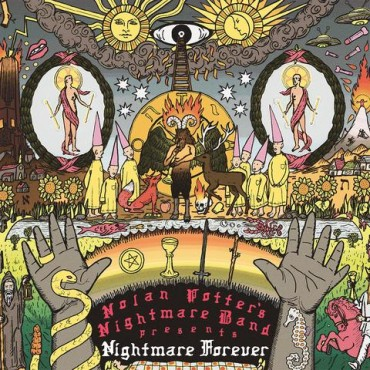 Nolan Potter's Nightmare Band - Nightmare Forever Lp Vinyl Limited Edition