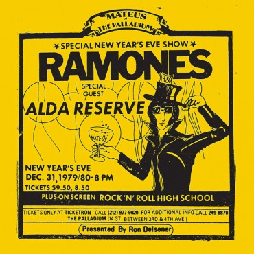 Ramones ‎– Live At The Palladium, New York, NY (12/31/79) 2 Lp Double Vinyl Limited Edition RSD 2019