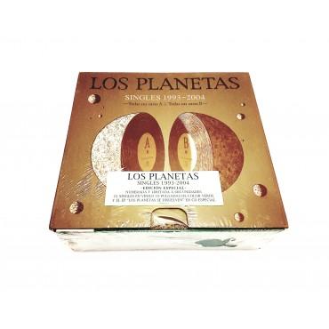Los Planetas – Singles 1993-2004 Box Set 21 Green Vinyl Limited To 666