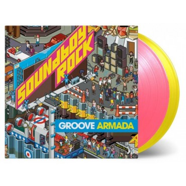Groove Armada - Soundboy Rock 2 Lp Double Color Vinyl Limited Edition MOV SALE!!!!