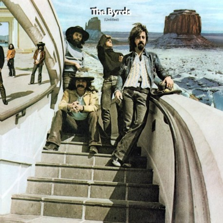 The Byrds - Untitled 2 Lp 180 Gram Audiophile Double Blue Vinyl Limited Edition Gatefold Cover