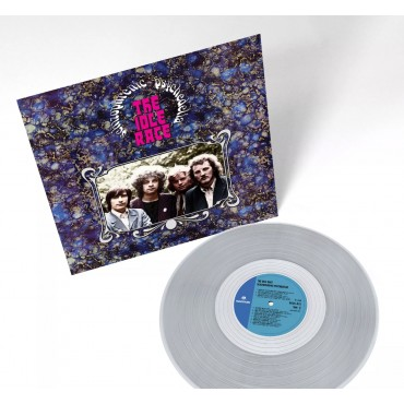 The Idle Race – Schizophrenic Psychedelia Lp Clear Vinyl Limited Edition Tip-On Cover