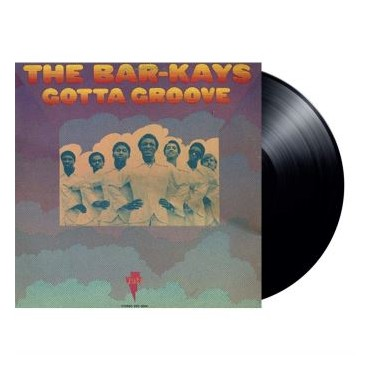 The Bar-kays – Gotta Groove Lp Vinyl Limited Edition Tip-On Cover