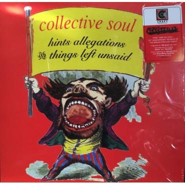 Collective Soul – Hints Allegations And Things Left Unsaid Lp Vinyl Vermell Edició Limitada RSD 2018