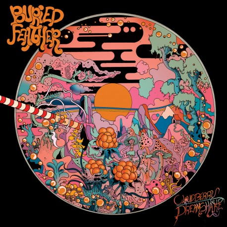 Buried Feather - Cloudberry Dreamshake Lp Orange Vinyl Limited Edition Of 200 Copies