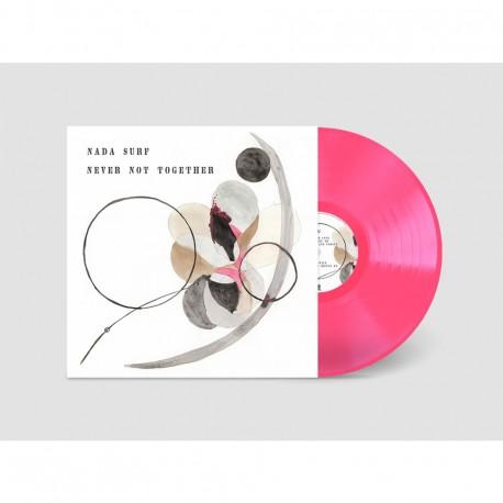 Nada Surf - Never Not Together Lp Pink Vinyl Limited Edition