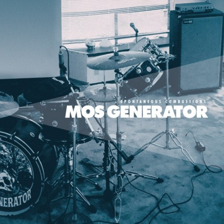 Mos Generator – Spontaneous Combustions Lp Blue/White Vinyl Limited Edition Of 200 Copies