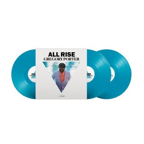 Gregory Porter - All Rise 3 Lp Triple Blue Vinyl Limited Edition Pre Order