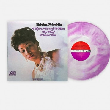 Aretha Franklin - I Never Loved A Man... Lp Mono Color Vinyl Limited Edition Contains Lithography