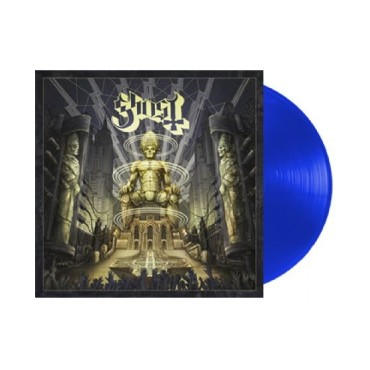Ghost - Ceremony And Devotion 2 Lp Double Blue Vinyl Limited Edition