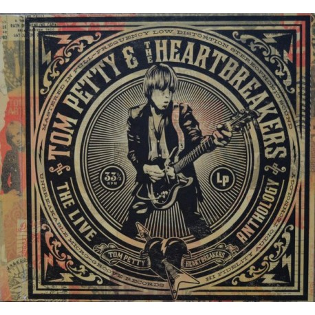 Tom Petty & The Heartbreakers ‎– The Live Anthology 7 Lp Vinyl Box Set Limited Edition