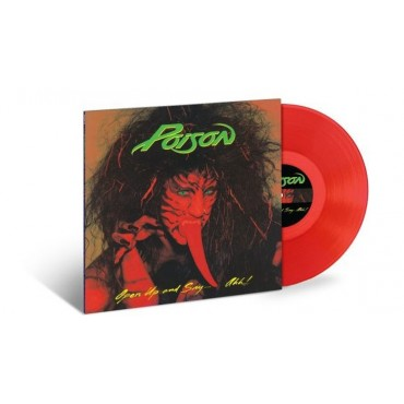 Poison - Open Up and Say...Ahh! Lp Red Vinyl Limited Edition