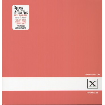 Queens Of The Stone Age ‎– Rated R Lp Vinyl Gatefold Sleeve Back Order