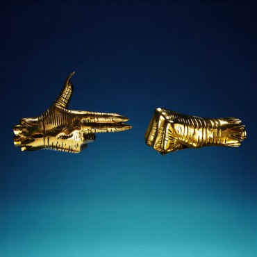 Run The Jewels ‎– RTJ3 2 Lp Gold Vinyl Limited Edition Gatefold Sleeve Comes With Stickers And Poster
