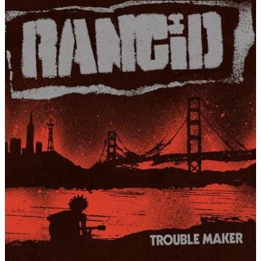 Rancid - Trouble Maker Lp + Single Vinil Blau Limitat