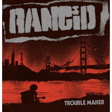 Rancid - Trouble Maker Lp + Single Vinilo Azul Limitado