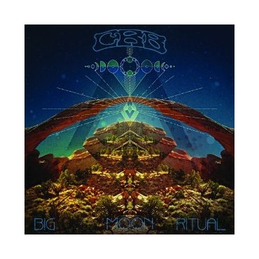 Chris Robinson Brotherhood - Big Moon Ritual 2 Lp Vinil Portada Gatefold Limitado