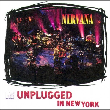 Nirvana - Unplugged In New York Lp Vinilo 180 Gram (Incluye Download)