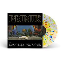 Primus – The Desaturating Seven Lp Vinilo De Color Limitado Nuevo Álbum