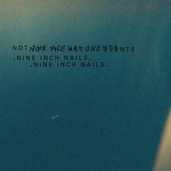 Nine Inch Nails – Not The Actual Events Lp EP Vinilo Limitado Pre Pedido