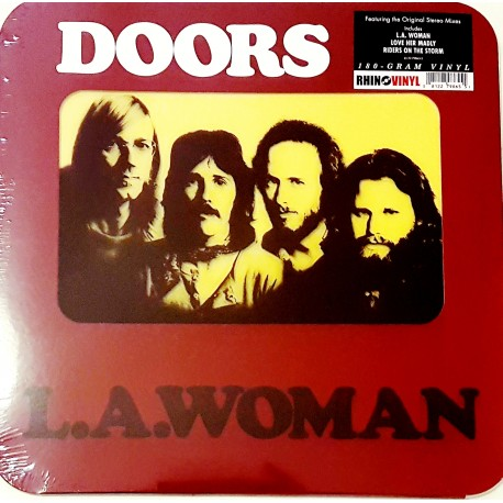 The Doors - L.A Woman Lp Vinilo Rhino 180 Gramos Edición Limitada