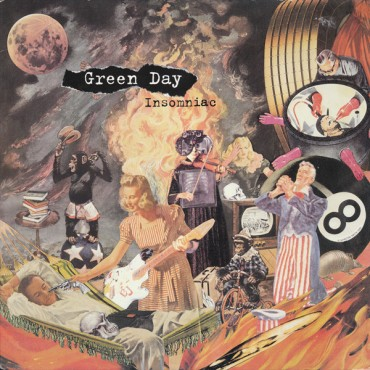 Green Day - Insomniac Lp Vinyl Reissue