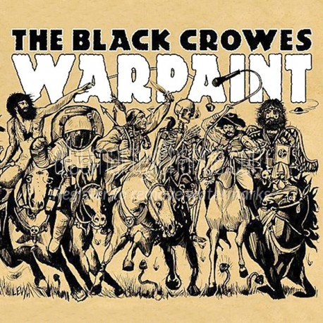 Black Crowes - Warpaint Lp Vinil Blau Limitat Portda Gatefold