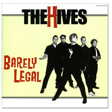 The Hives - Barely Legal Lp Bronze Color Vinyl Limited Edition 20Th Anniversary