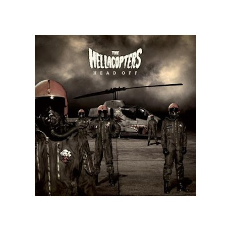 The Hellacopters ‎– Head Off Lp Brown Vinyl Limited